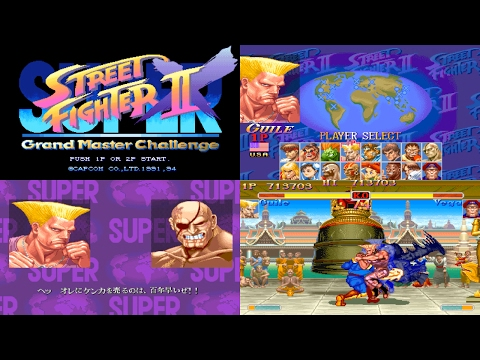 [4/5] Guile - SUPER STREET FIGHTER II X(Arcade,JP,LV1,EASIEST) [3150x1772,60p]