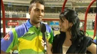 ICL 2008 - Mayanti Langer interview Stuart Binny.  Asks him about marriage!  Rarest footage.