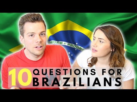Questions for Brazilians 👀🇧🇷 What do British People Think About Brazil?