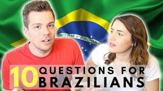 Baixar Questions for Brazilians 👀🇧🇷| What do British People Think About Brazil?