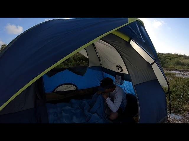 Camping at Anclote Key