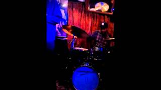 Kyle Poole on drums with Josh Evans' Group @ Smalls