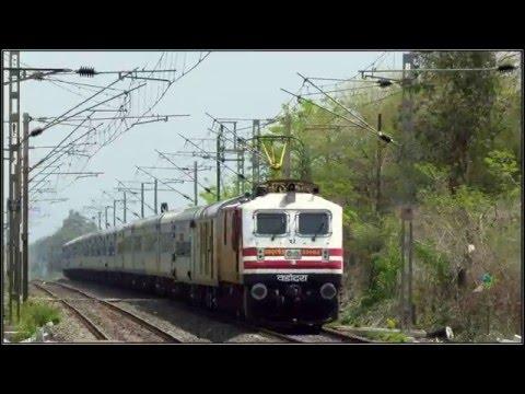 LHB Intercity; Ahemdabad Mumbai Central Karnavati Express Full Journey Part II- Surat Mumbai Central