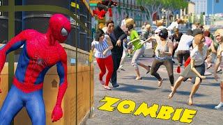 ZOMBIE VIRUS SPREADING CITY - MARVEL AVENGERS VS ZOMBIE - EPIC BATTLE