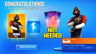 How to Get iKONIK SKIN & SCENARIO EMOTE WITHOUT GALAXY S10 In Fortnite!
