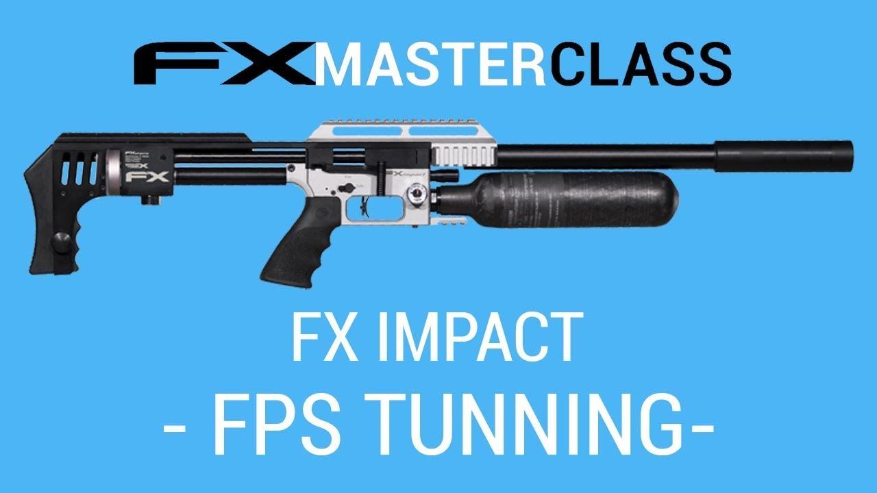 FXA Impact-X Tuning for Slugs and Slug Liner ~ Air Rifle SA