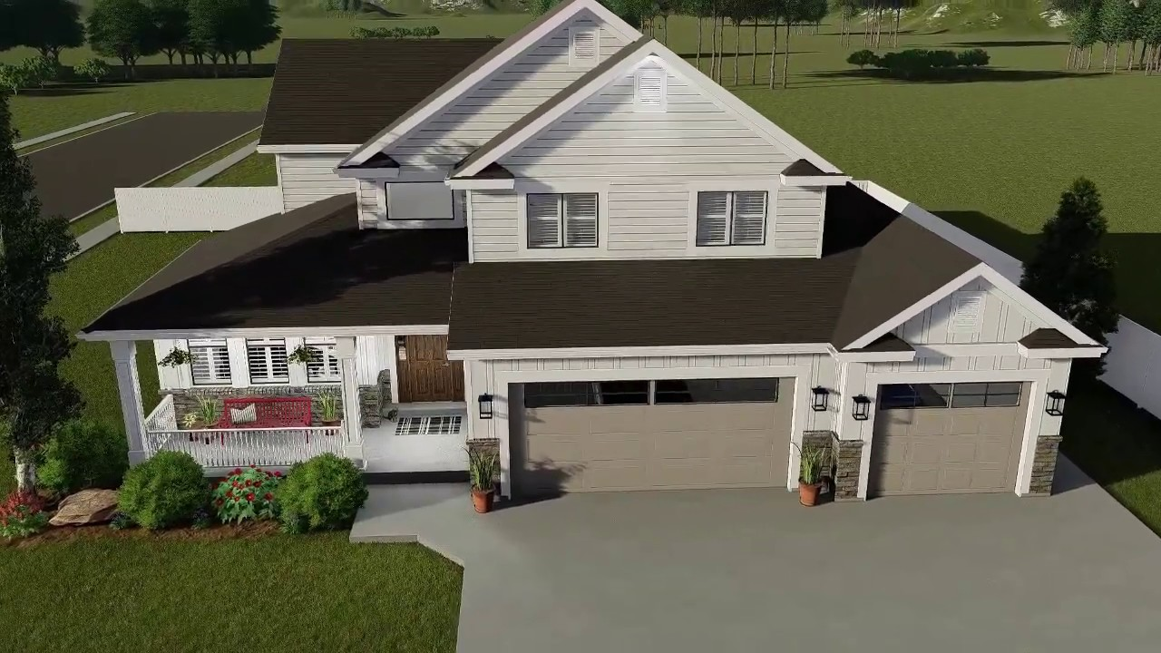 house plans with finished basement 5 bedroom craftsman house plan with finished basement youtube 324
