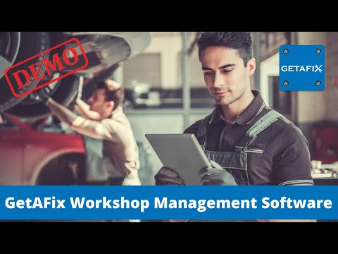 Evenforce GetAFix COMPLETE DEMO FOR AUTOMOBILE REPAIR SHOP SOFTWARE
