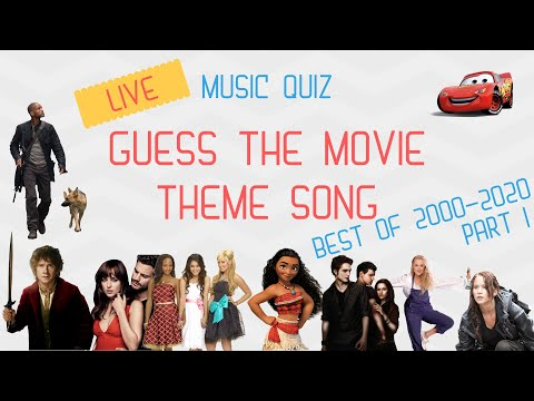 MOVIE THEME SONG QUIZ LIVE PART 1! Only The Best From 2000-2020 Movies