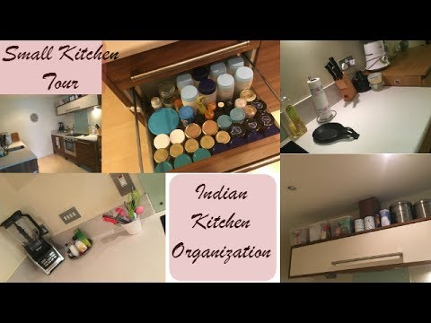Indian Kitchen Tour How To Organize A Small Kitchen