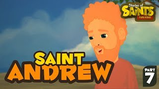 Story of Saint Andrew| English | Story of Saints For Kids