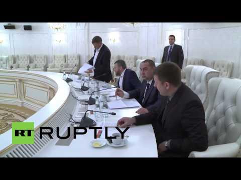 Belarus: Trilateral talks on Ukrainian ceasefire commence