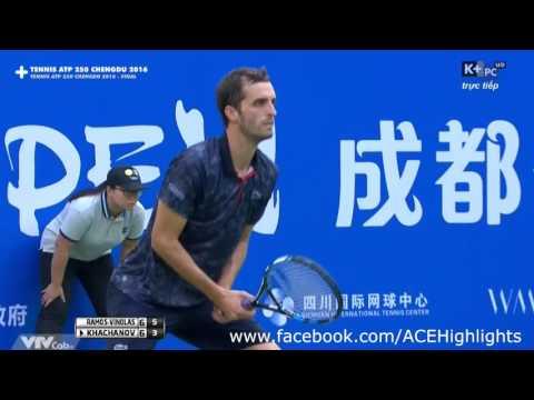 Karen Khachanov vs Albert Ramos Vinolas 2016 Chengdu Open FINAL