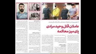 جزییات جدید از پرونده قتل وحید مرادی و تقاضای قصاص همسر وحید برای قاتلش