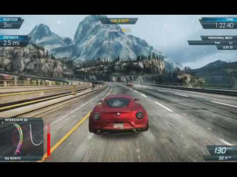 Need for Speed Most Wanted 2012 Park and Country