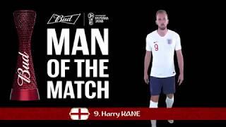 Harry KANE (England) - Man of the Match - MATCH 30
