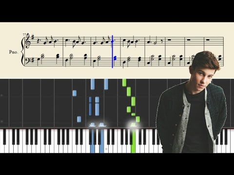 Shawn Mendes - Three Empty Words - Piano Tutorial + Sheets