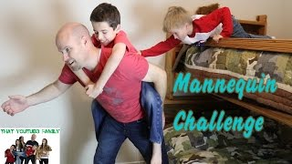 Family Mannequin Challenge