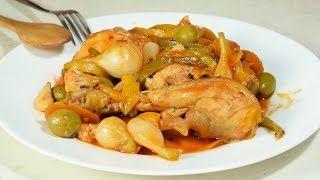 Pollo en Escabeche a mi Estilo NUNCA Visto!!!!!!!!!!!