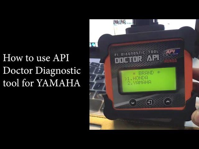 API Doctor Hybrid - How to use Yamaha #smartgarage #diagnostictool