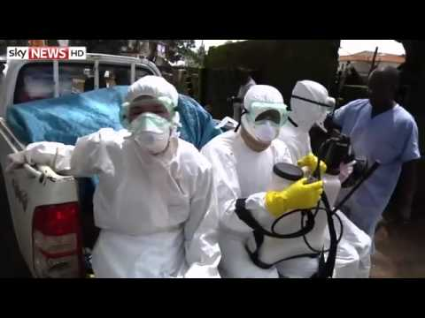 Ebola Outbreak: Filming In Liberia Isolation Centre