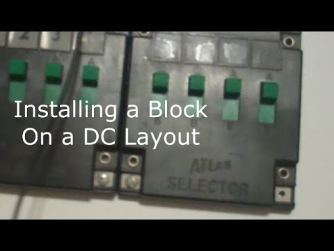 installing a block using atlas selector 215 youtube rh youtube com Atlas Snap Relay Schematic Atlas Twin 210 Wiring-Diagram