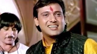 Raja Babu Comedy Scene - Govinda and Shakti Kapoor watches Amitabh