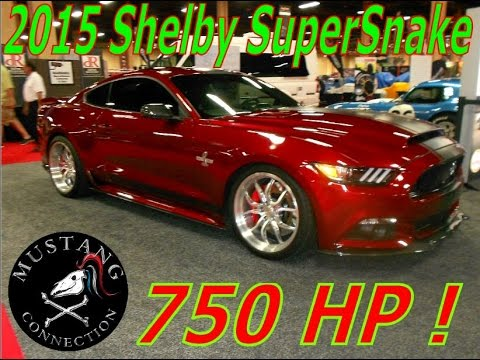 2015 Shelby Super Snake Mustang 750 HP Mustang Connection  YouTube