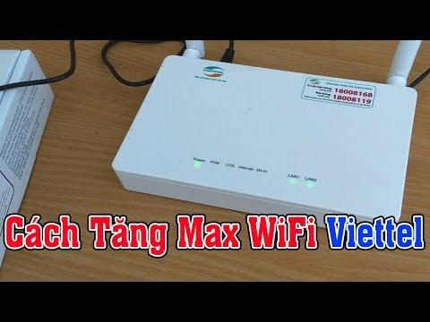 Hướng Dẫn Cách Tăng Max Băng Thông WiFi Viettel Dễ Nhất