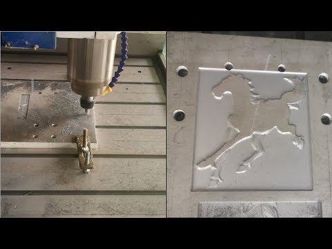 Mini Hobby CNC Router 6090 Engraving Cutting Aluminum