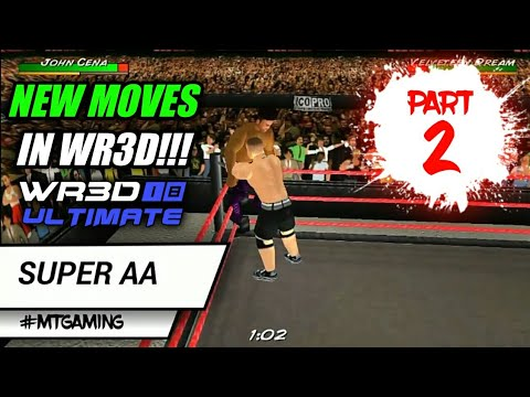 Wr3d wwe mod apk latest   Wr3d WWE 2K19 Apk Obb data file