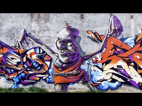 Holland - Baarlo • B-art • Sign • Ders • MadC • Nychos • Vibes • Ozer • Puaks • Mega • Dater • Romeo