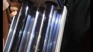 Capteur solaire thermique à tubes