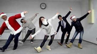 サンタ事業で子供たちと一緒に踊りましょう☆ 「まっかなお鼻のトナカイ...