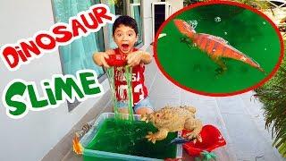 สกายเลอร์ | เล่นบ่อสไลม์ลาวากับเหล่าไดโนเสาร์ ดินแดน มหาสนุก | Dinosaurs in Lava Slime