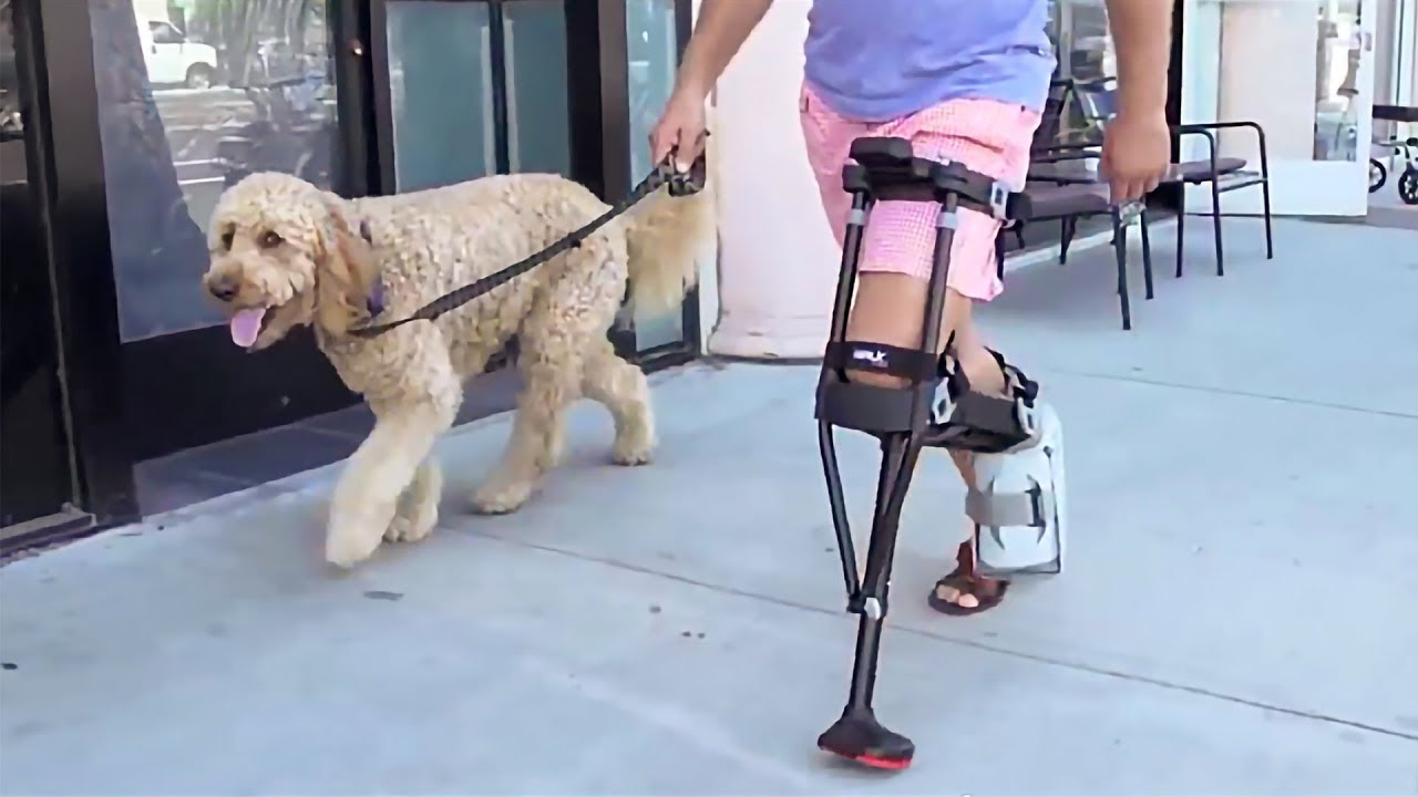 a5f69d4604 Crutches and Knee Scooters Are Obsolete - See Why the iWALK2.0 Changes  Everything