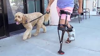 Crutches and Knee Scooters Are Obsolete - See Why the iWALK2.0 Changes Everything thumbnail
