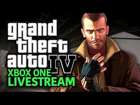 GTA IV on Xbox One Backwards Compatibility Livestream