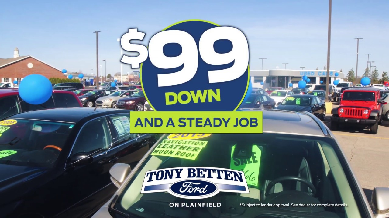 Year End Clearance Event Nov 15 Second Commercial Tony Betten Ford