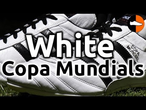 Limited Edition White Copa Mundials