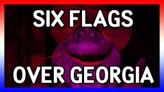 six flags over georgia 4k usa 2016 day 15