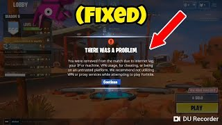 Fortnite Mobile Getting Kicked Out Fixe (Solution)