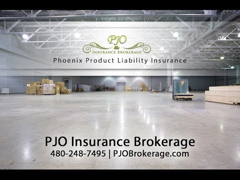 Phoenix Product Liability Insurance By PJO Brokerage