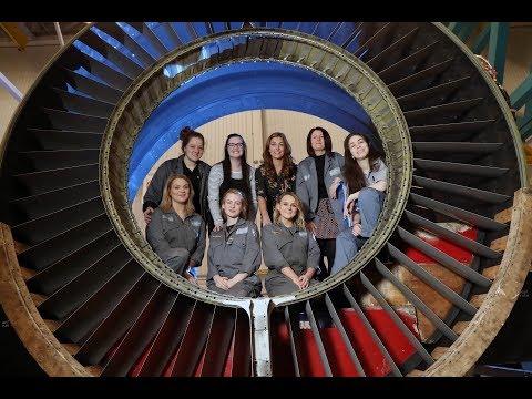 GE Aviation Women in STEM