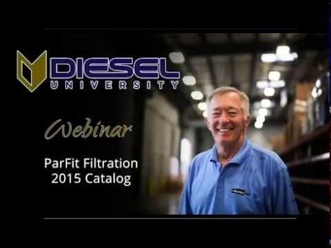 M&D Distributors Diesel University Webinar Training - Racor Parfit Filtration 2015 Catalog