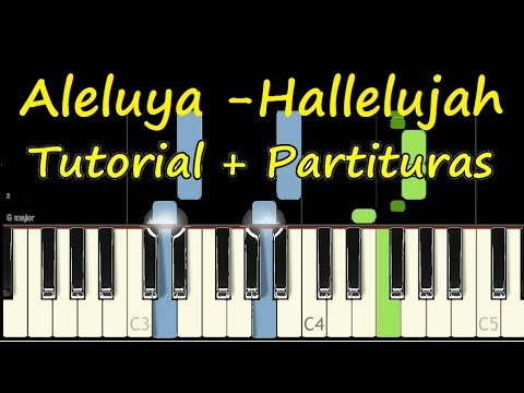 ALELUYA AVIVAMIENTO PIANO Tutorial HALLELUJAH Cover Facil + Partitura PDF Sheet Music thumbnail