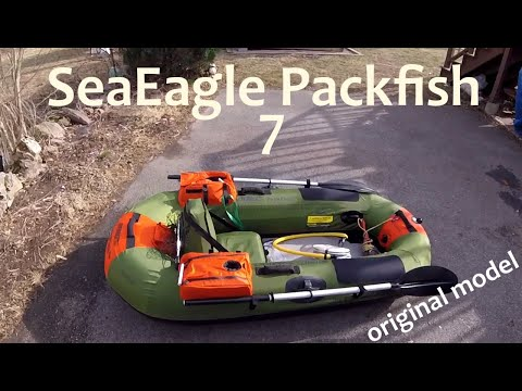 SeaEagle Packfish 7 Inflatable Fishing Raft Owner Review, Tips, Pros And Cons. (Original Model)
