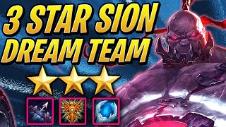 The 3 STAR SION Hyper-Carry Dream! ⭐⭐⭐ ft. Scarra | Teamfight Tactics Set 2 | TFT League of Legends