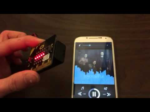 How to use a BBC micro:bit as a music remote for your phone