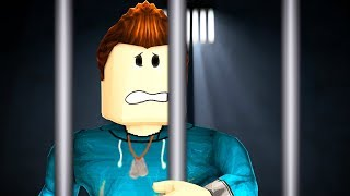 BREAKING OUT OF PRISON IN ROBLOX! Roblox Escape Room!